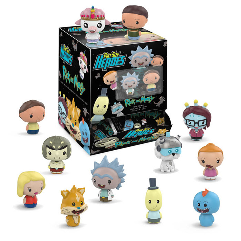 Pint Size Heroes : Rick and Morty