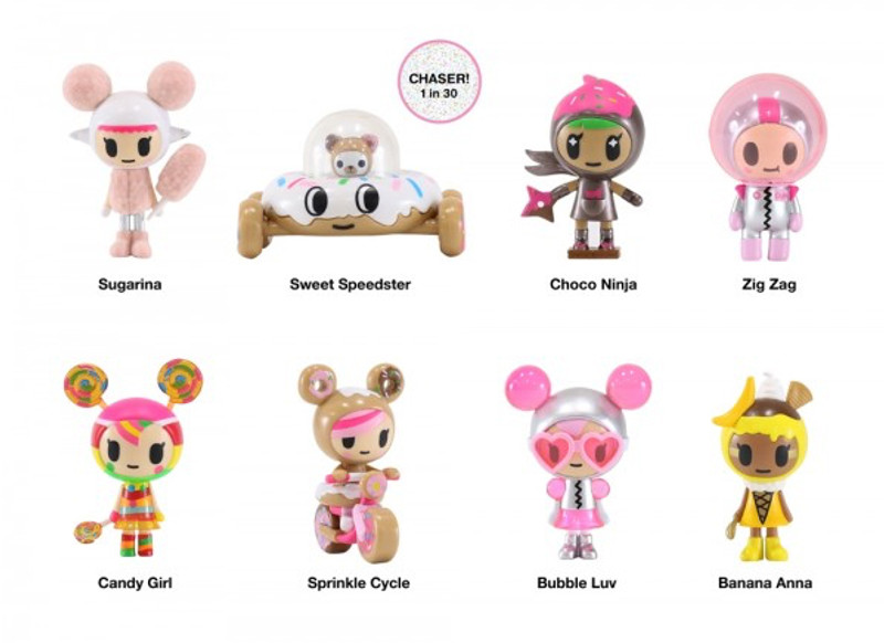 Donutella & Her Sweet Friends Vinyl Series 2 : Case of 16