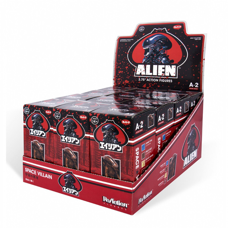 Alien Xenomorph ReAction Figure Series 2 : Blind Box