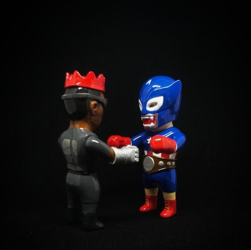Fight Of The Century Set :  America Heros Color Version