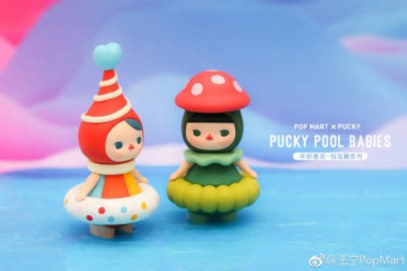 Pucky Pool Babies Mini Series : Blind Box PRE-ORDER SHIPS APR 2019