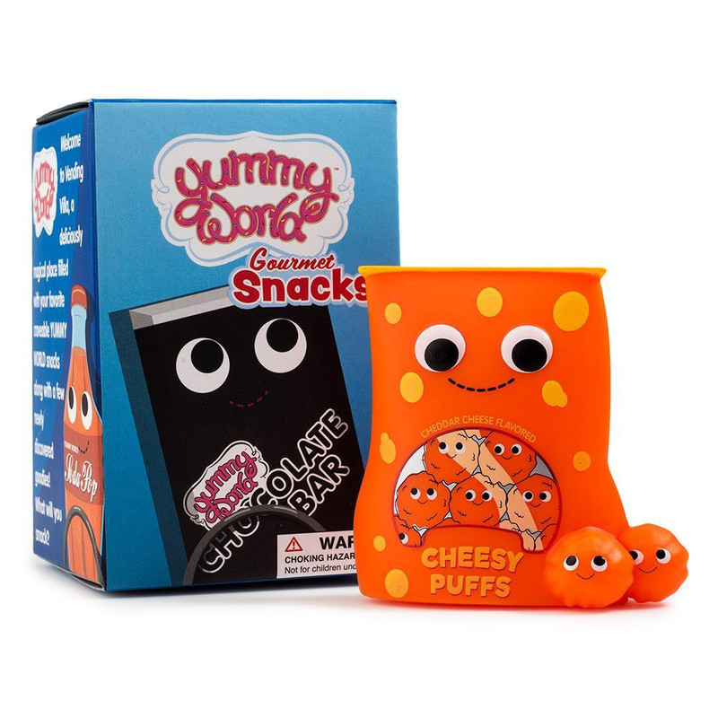 Yummy World Gourmet Snacks Vinyl Mini Series : Blind Box