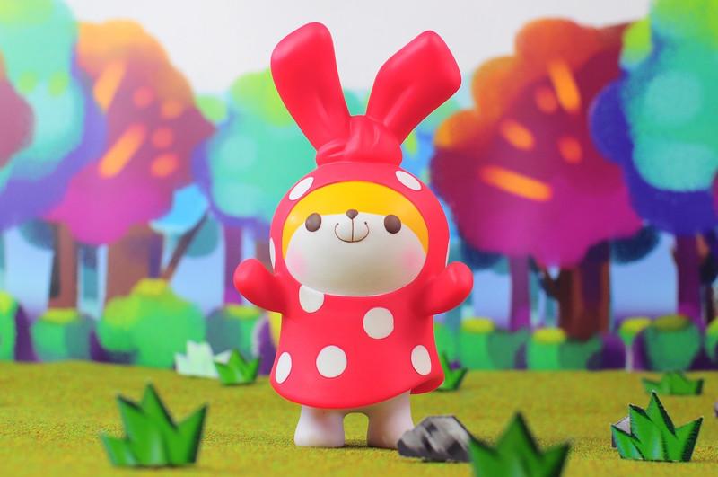 Zombie Bunny : Mushroom Bunny