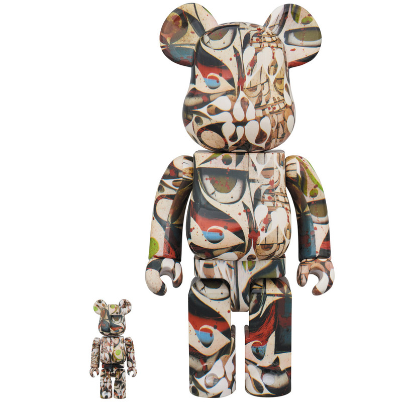 Be@rbrick 400% and 100% : Phil Frost