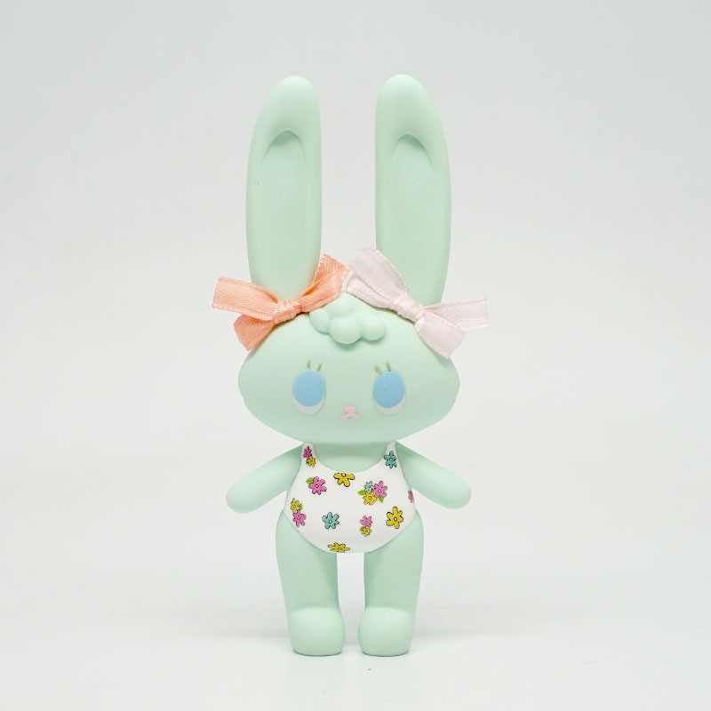 Pooltime Bunnies - Green by Seulgie *SOLD*