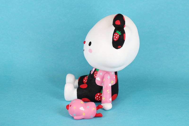 Strawberries Over the Rainbow by Fluffy House *SOLD*