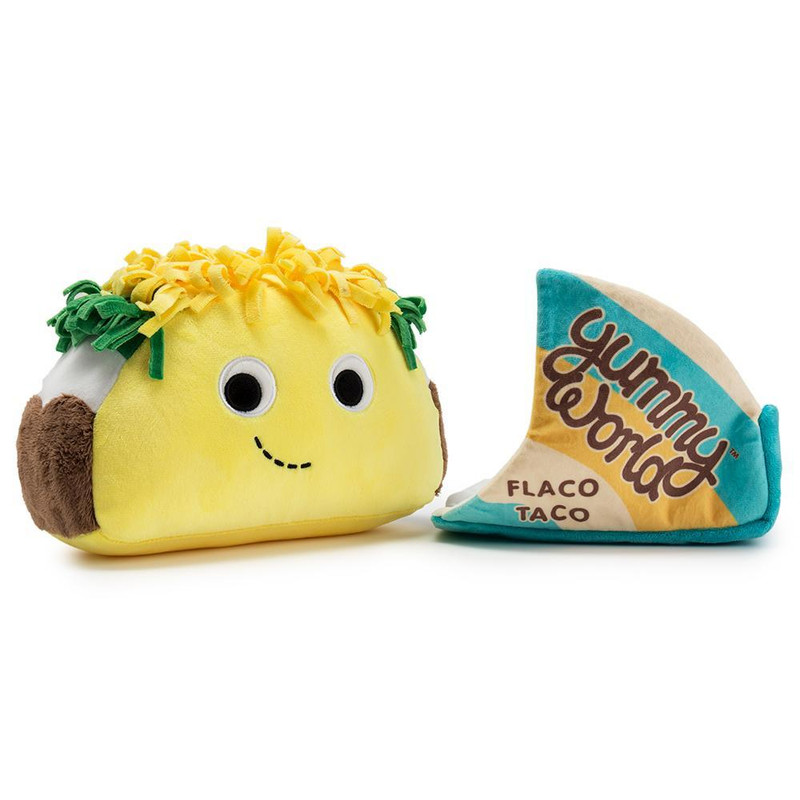 Yummy World 10 inch Plush : Flaco Taco