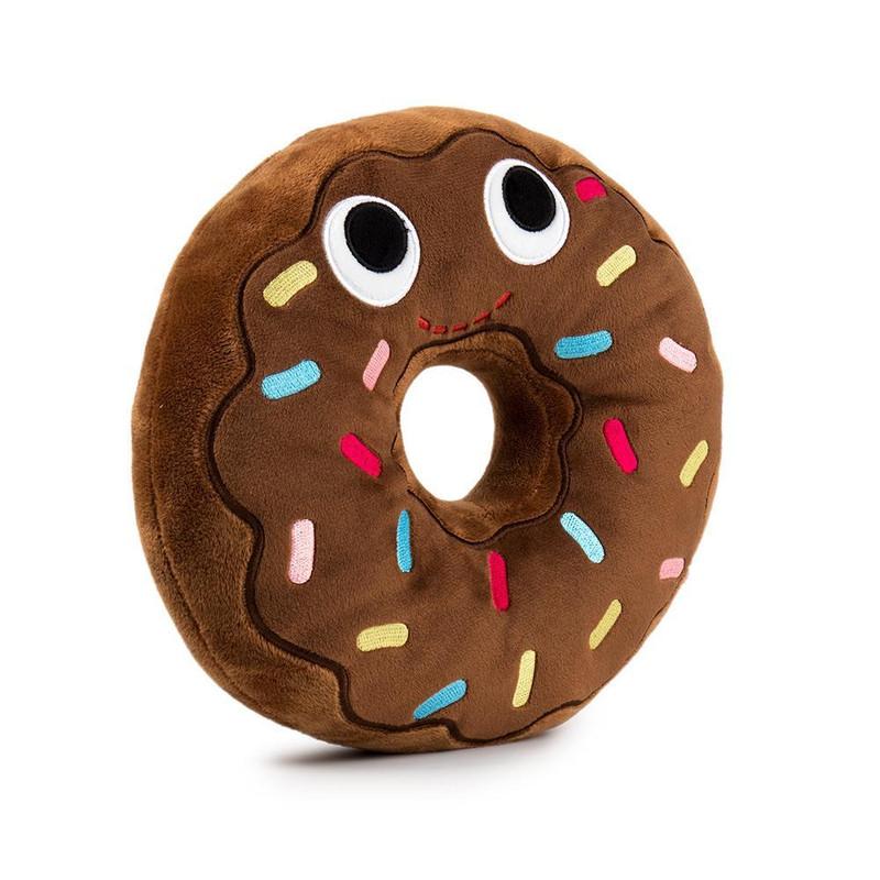 Yummy World 10 inch Plush : Ben Chocolate Donut