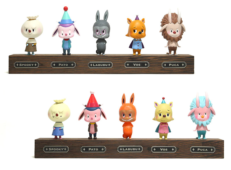The Monsters Mini Figure Series 2 Set of 10 by Kasing Lung