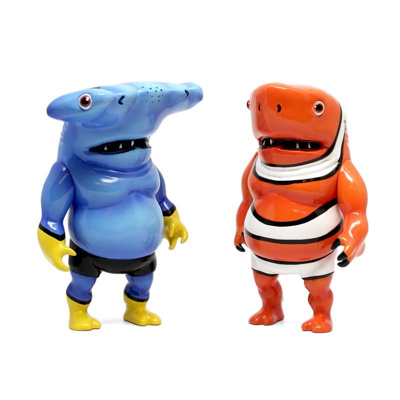 Finding Shark Boys by Momoco