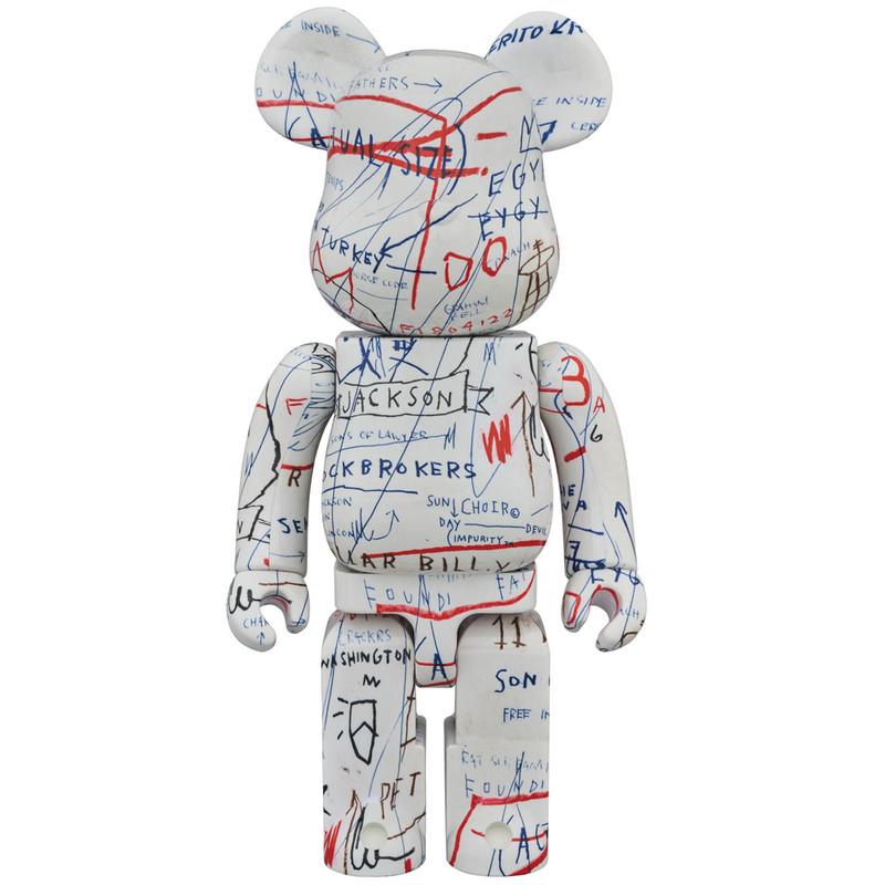 Be@rbrick 1000% : Jean-Michel Basquiat 2 PRE-ORDER SHIPS SEP 2018