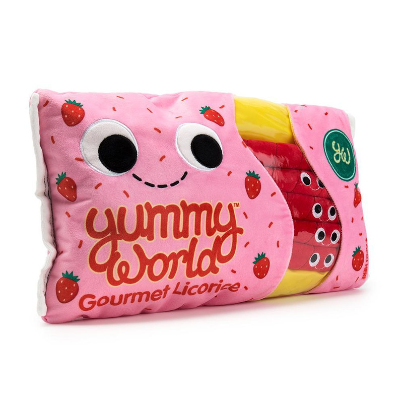 Yummy World 15 inch Plush : Breezy and the Twists Licorice Candy