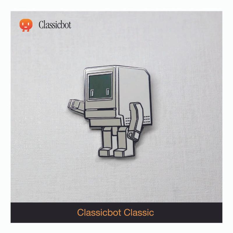 Classicbot Classic Enamel Pin