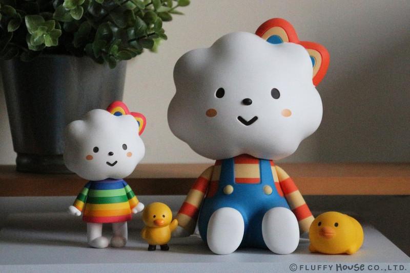 Jumbo Rainbow and Chicky