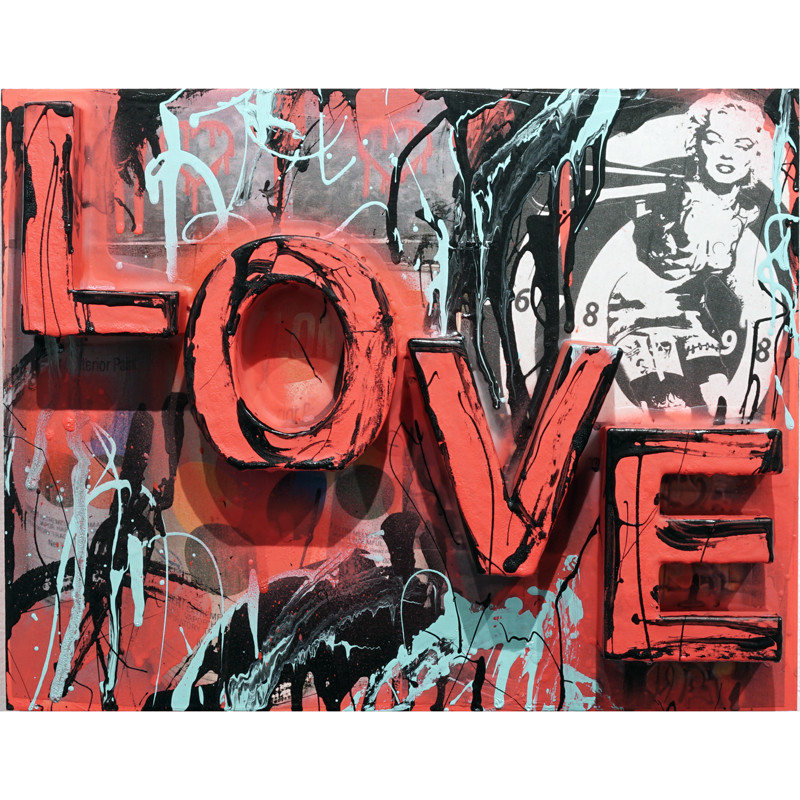 Love by Savior Elmundo *SOLD*