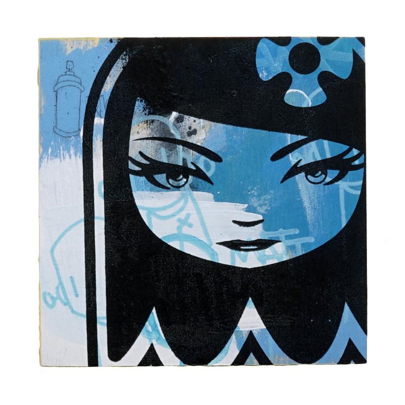 Matt Siren X ChrisRWK Ghost Girl 2 by Matt Siren *SOLD*