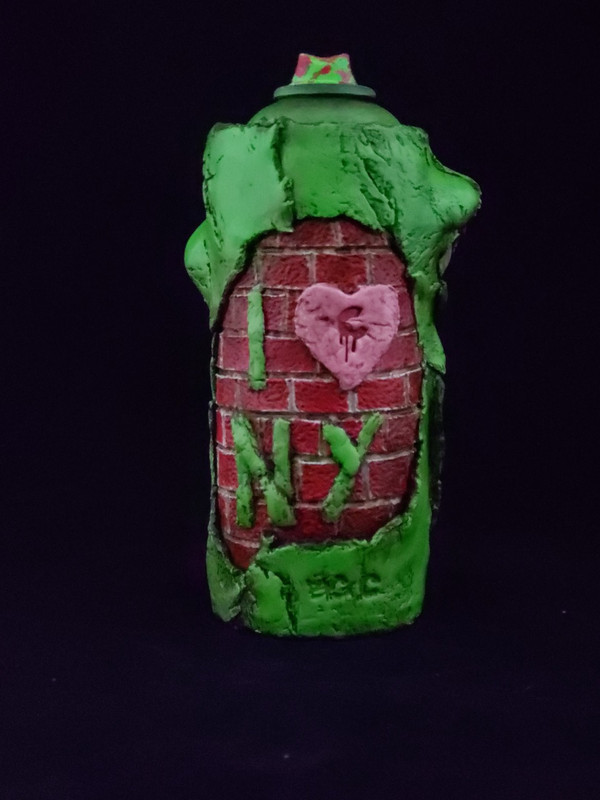 Big Apple Wall Can - Granny Smith Version by Big C *SOLD*