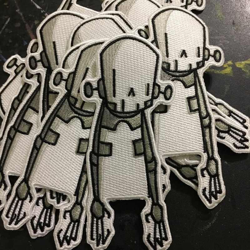 Skeleton Iron-On Patch