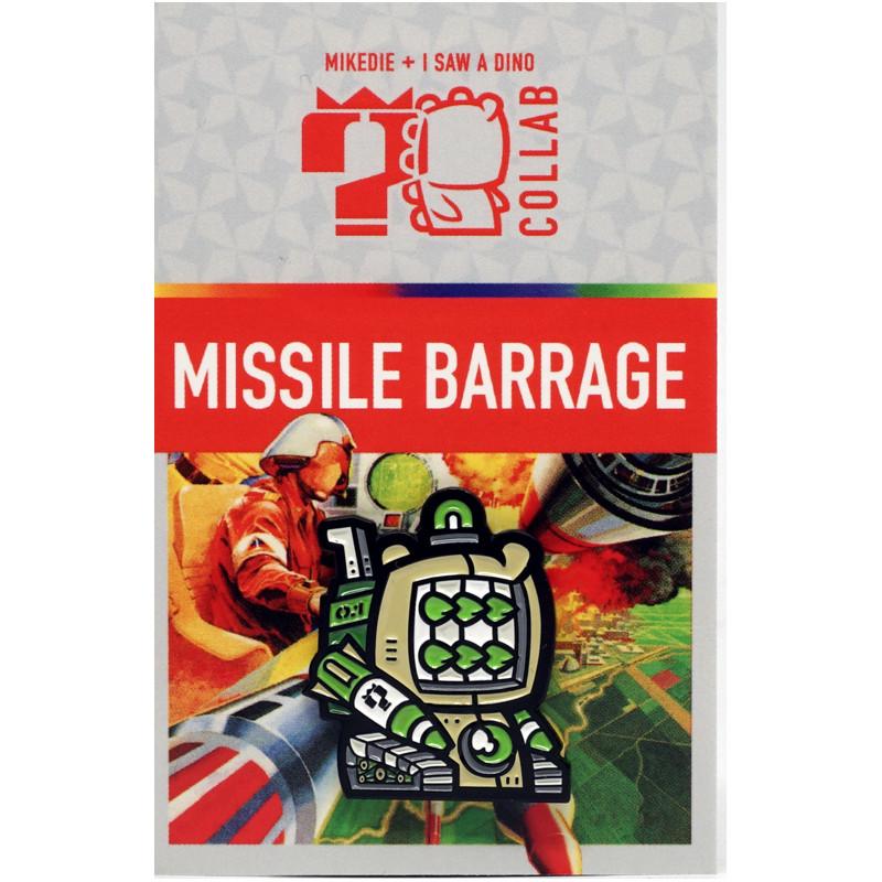 Missile Barrage Enamel Pin
