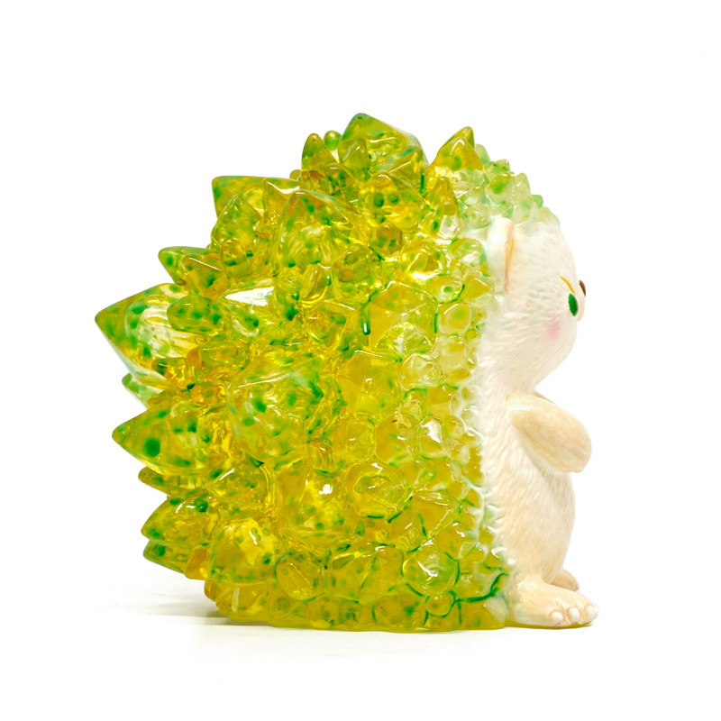 Hogkey the Crystal Hedgehog : Lemon Lime