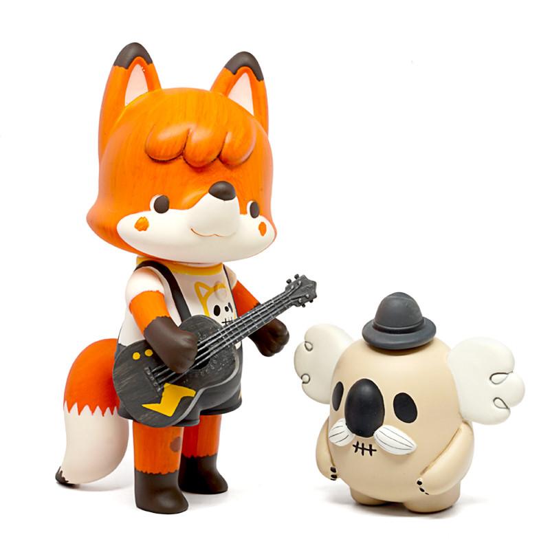 Flower Fox & Uncle Ko