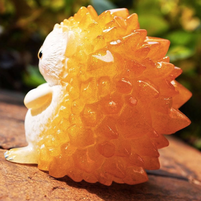 Hogkey the Crystal Hedgehog : Orange Comb