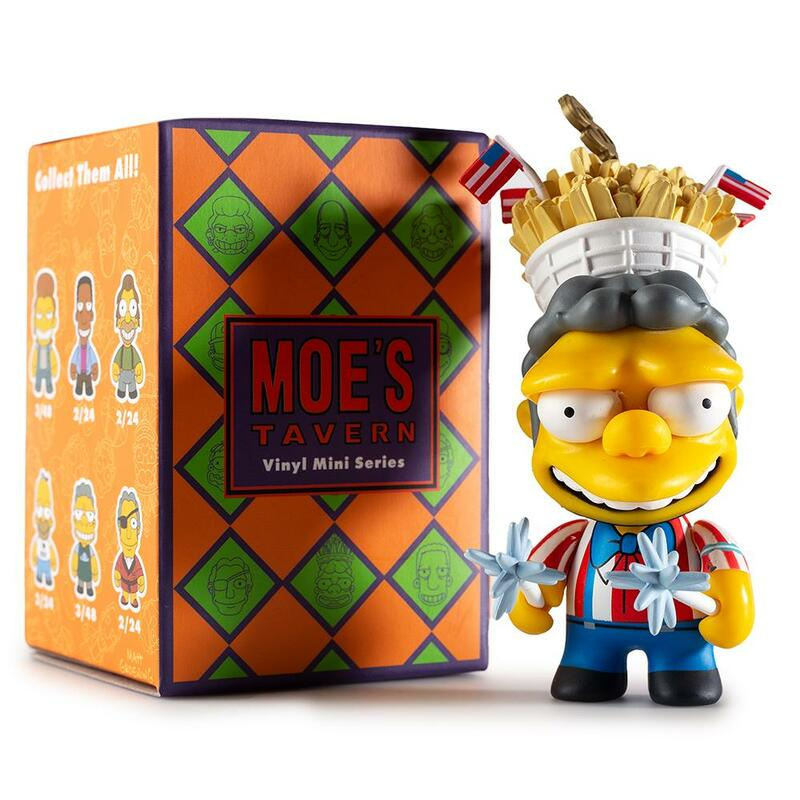 The Simpsons Moe's Tavern Mini Series : Blind Box
