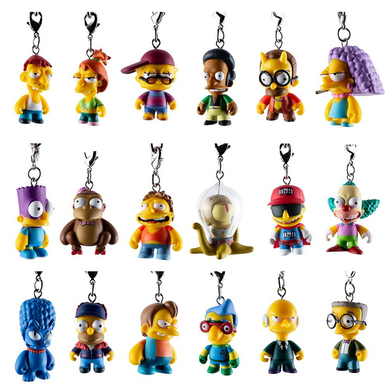 The Simpsons CRAP-TACULAR! Keychain Series : Blind Box