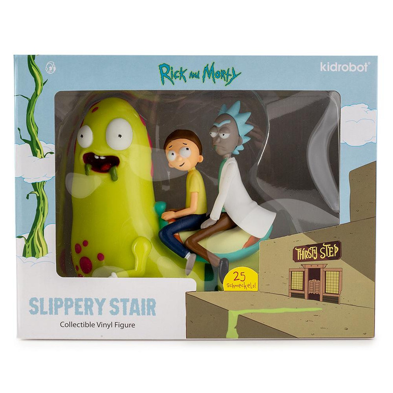 Adult Swim Rick & Morty Slippery Stair Medium Figure