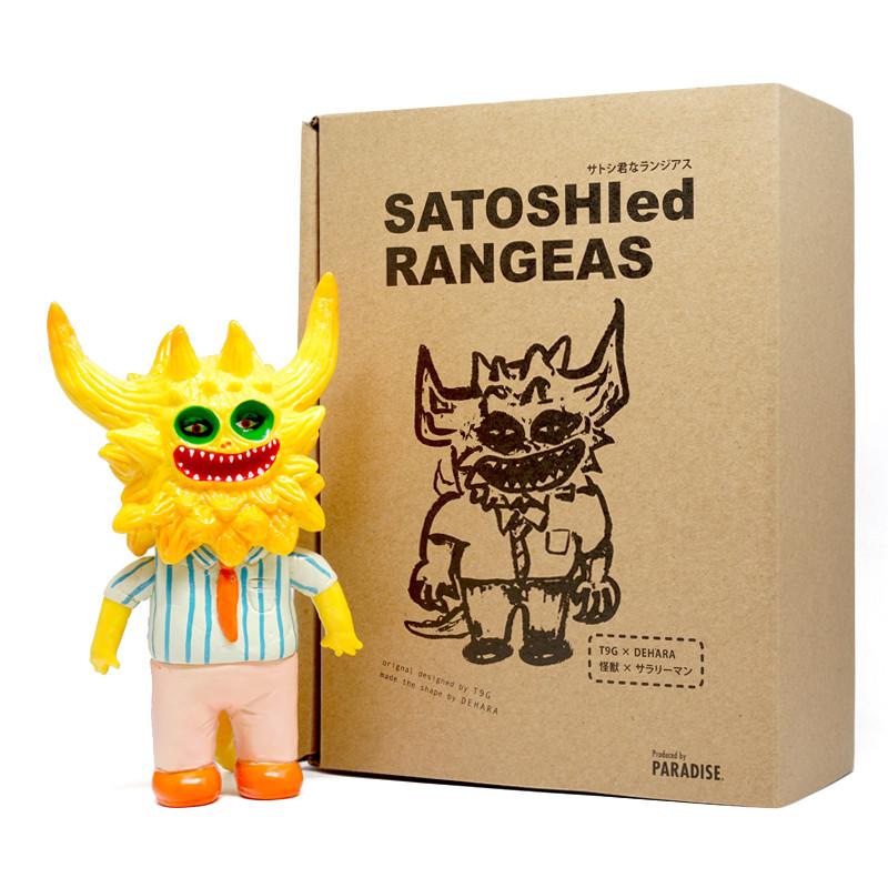 SATOSHIed RANGEAS Yellow by Dehara Yukinori x T9G