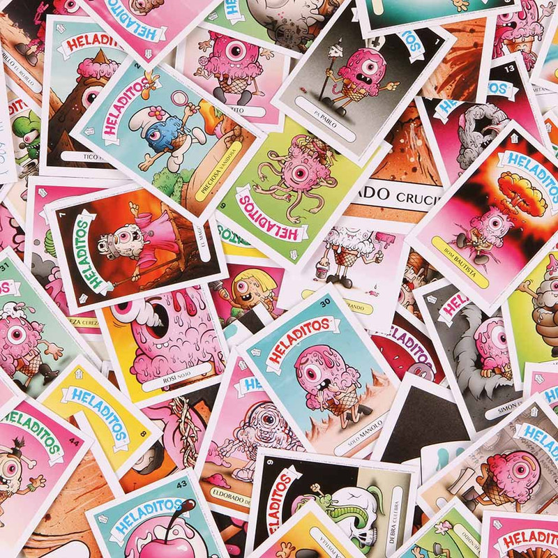 Heladitos : Sticker Card Pack