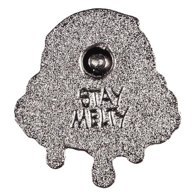 Motley Melty Teal Enamel Pin