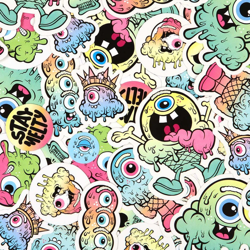 Buff Monster Original Sticker Pack