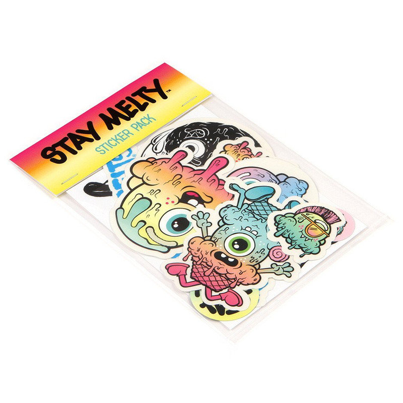 Buff Monster Jumbo Sticker Pack
