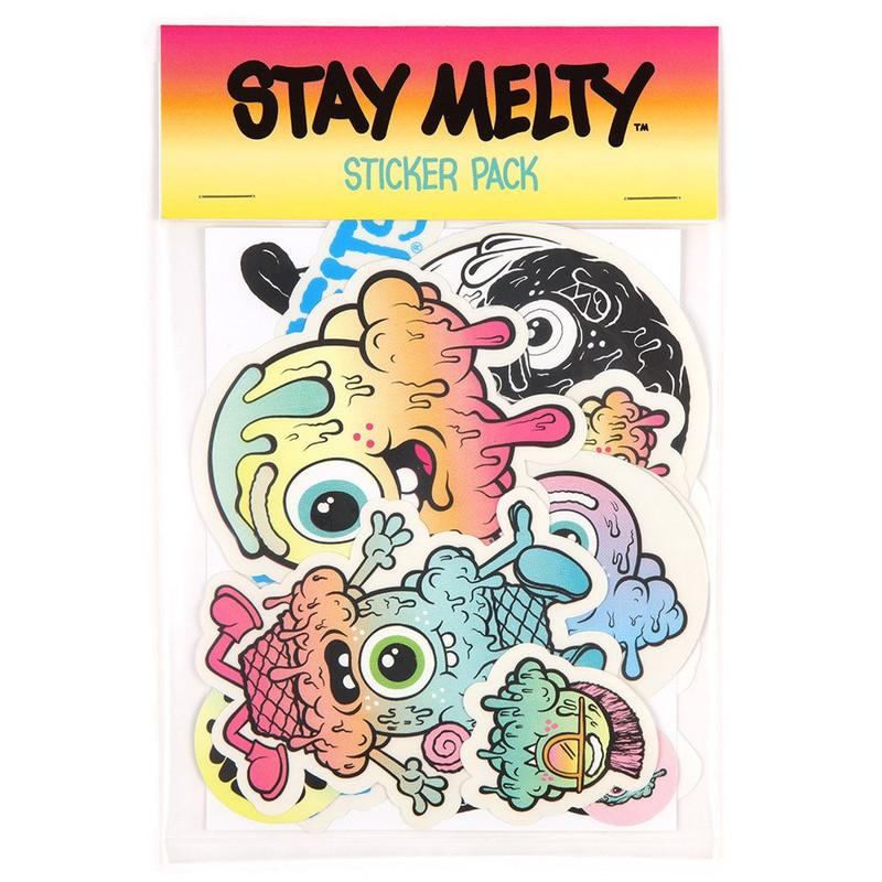 Buff Monster Jumbo Sticker Pack