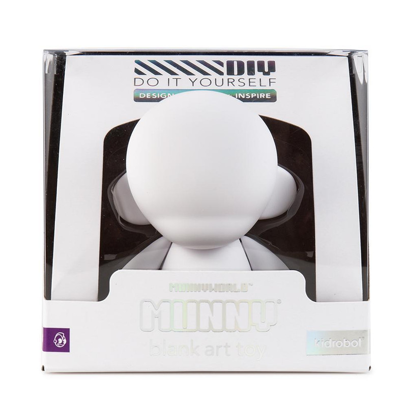 "MUNNYWORLD 4"" MUNNY Blank Art Toy"