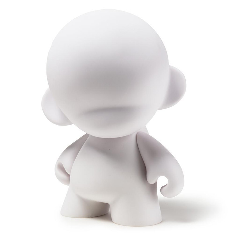 "MUNNYWORLD 7"" MUNNY Blank Art Toy"