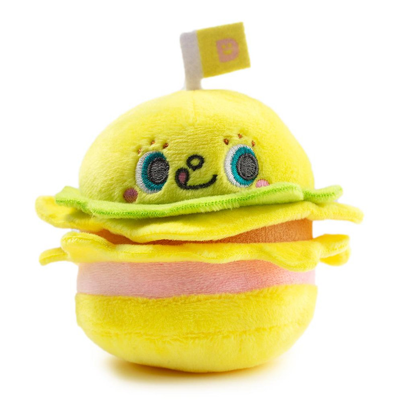 Hello Sanrio Plush Burger Charms : Case of 12