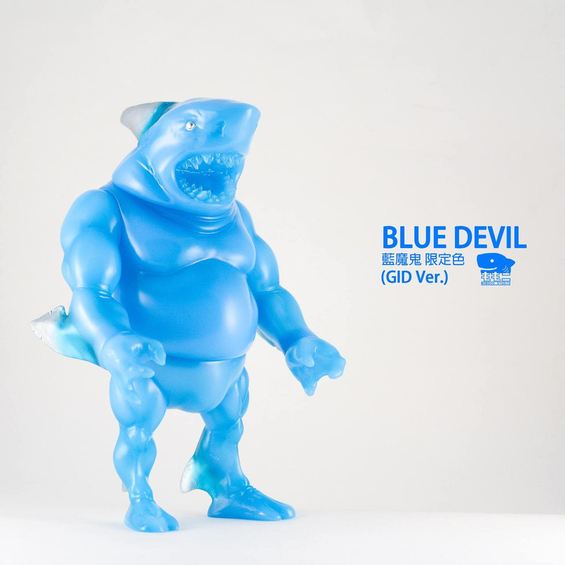 Shark Papa : Blue Devil GID
