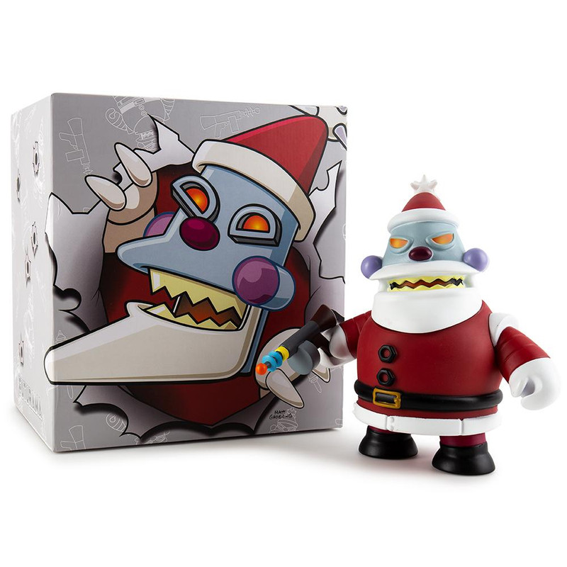 Futurama Robot Santa Naughty Medium Figure