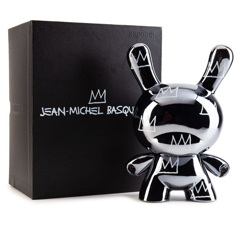 "Jean-Michel Basquiat 8"" Masterpiece Dunny :  Legacy"