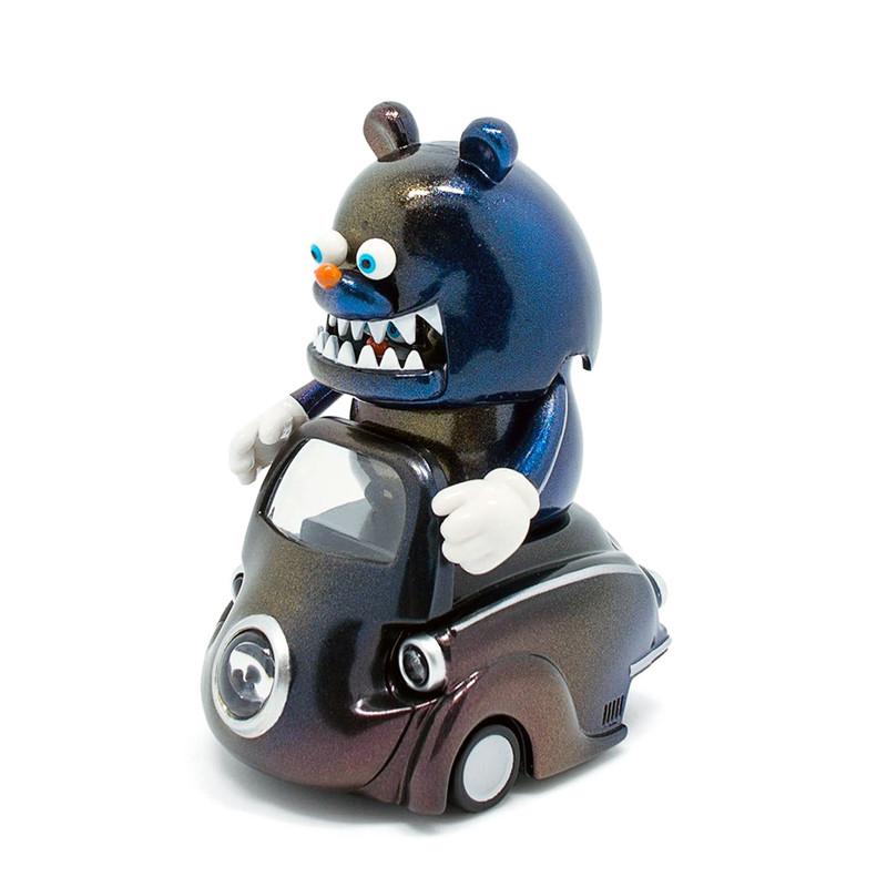 Lumisofvi : Kotaro Black Set (Mini Figure with Light-up Car + Base)