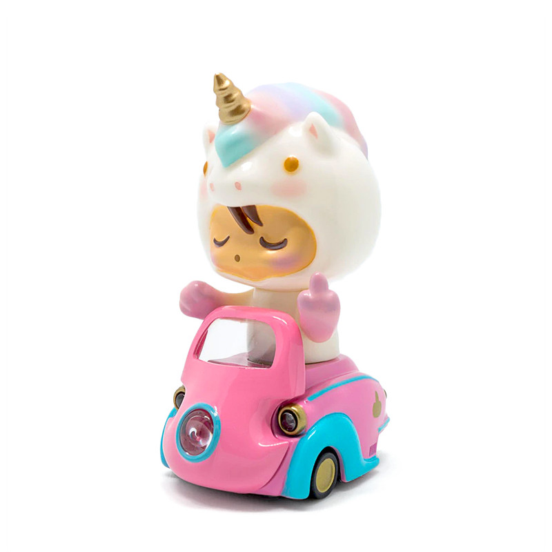 Lumisofvi : Baby Quay Set (Mini Figure with Light-up Car + Base)