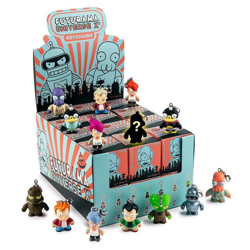 Futurama Universe X2 Keychain Series : Blind Box