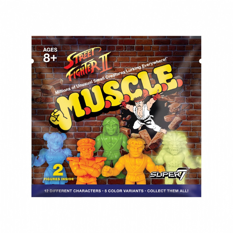 Street Fighter 2 M.U.S.C.L.E. : Foil Blind Bag