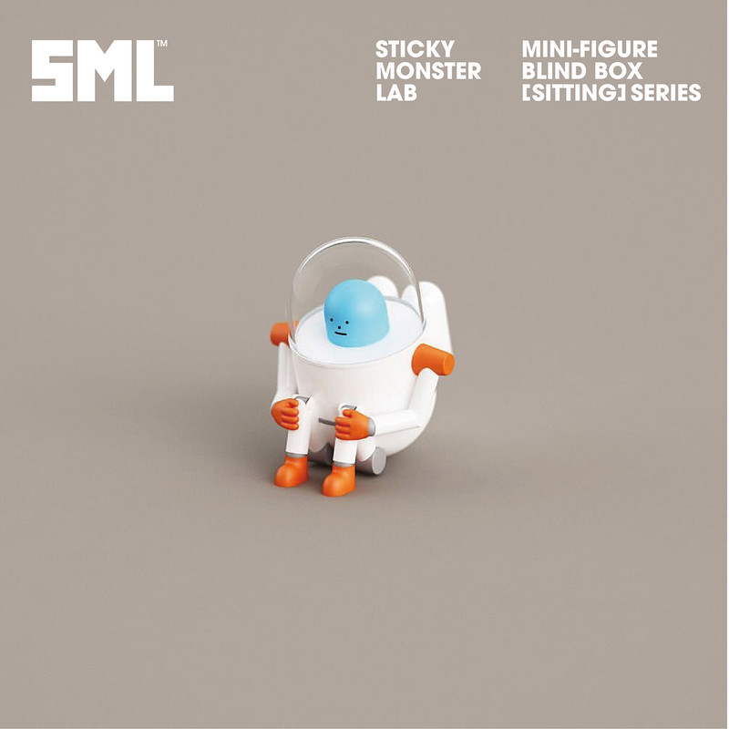 Sticky Monster Lab Mini-Figure Sitting Series : Blind Box