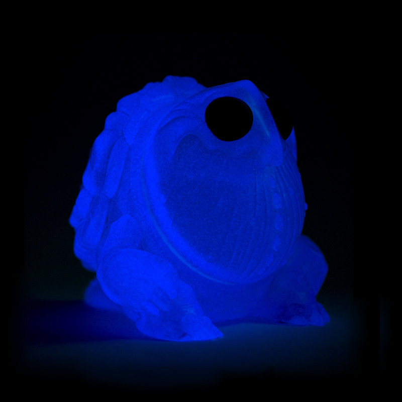 Algonac : Transparent Pink / Glow Blue