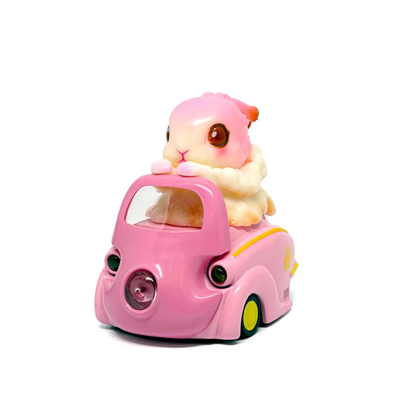 Lumisofvi : Raby Set (Mini Figure with Light-up Car + Base)