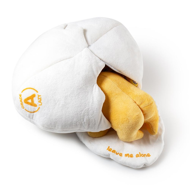 Gudetama Lazy Egg Medium Plush