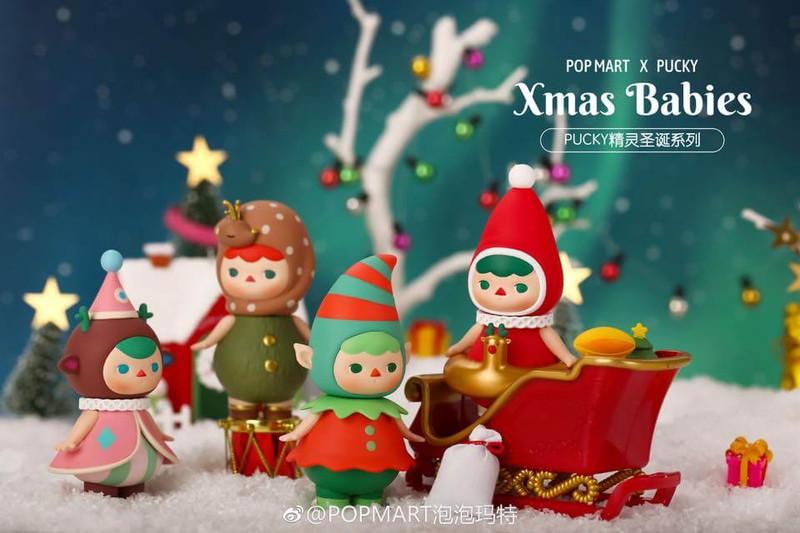 Pucky Xmas Babies Mini Series : Blind Box